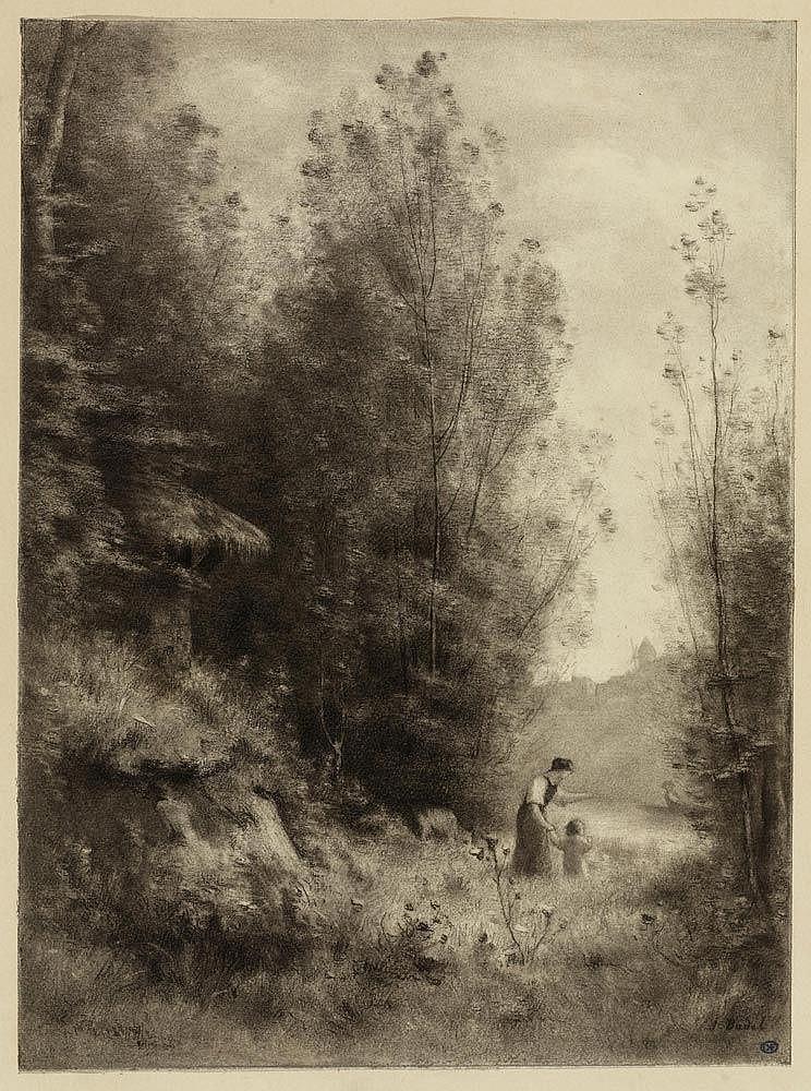 badel jules louis longirod 1840 1869 geneva landscape. Black Bedroom Furniture Sets. Home Design Ideas