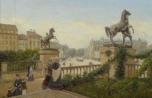 BRÜCKE, WILHELM (Stralsund 1800 - 1874 Berlin)View