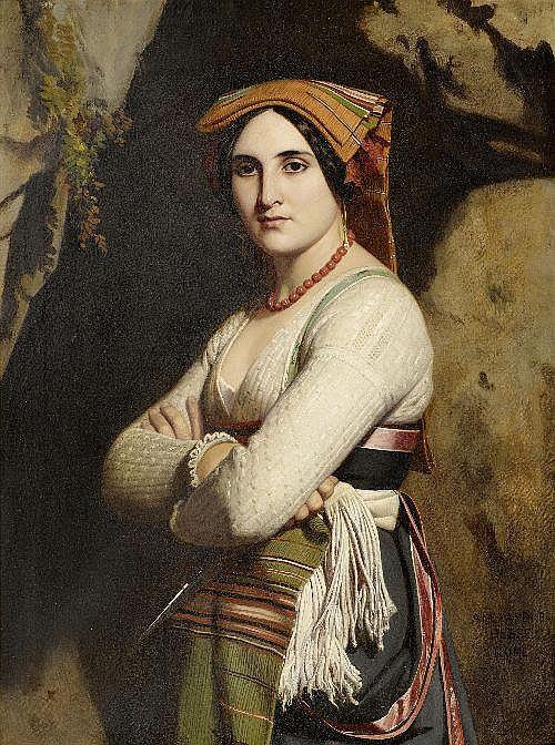 HESSE, ALEXANDRE JEAN-BAPTIST (1806 Paris