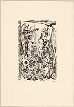 BECKMANN, MAX(Leipzig 1884 - 1950 New York)Der