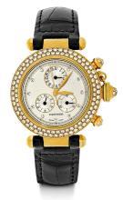 Cartier Pasha Chronograph, ca. 2000.