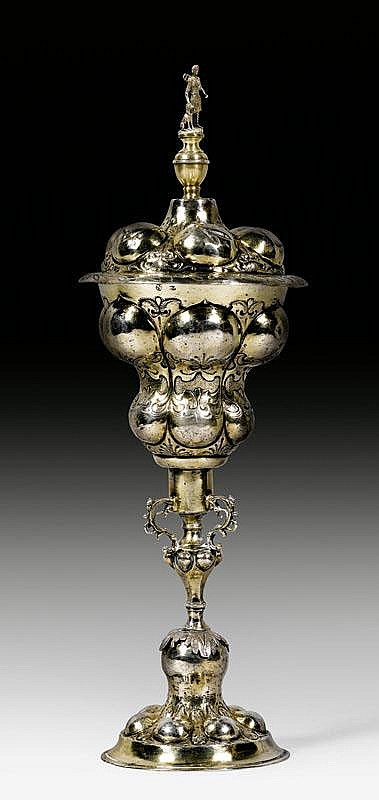VERMEIL DECKELPOKAL, Nürnberg zwischen 1638 -