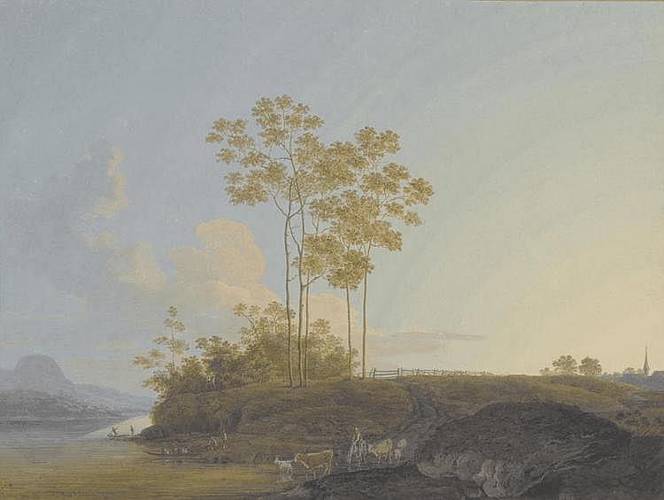 BÜCHEL, JOHANN ULRICH(1753 Basel 1792)Pair of
