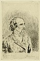 ENSOR, JAMES (1860 Ostende 1949). Portrait