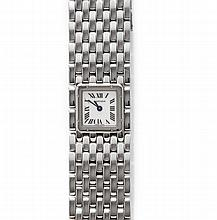 LADY'S WRISTWATCH, CARTIER RUBAN, 2003.Steel.Ref.