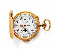 SAVONNETTE POCKET WATCH, 1/4 REPEATER,