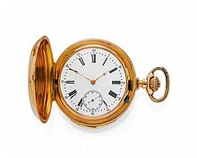 SAVONNETTE POCKET WATCH, MINUTE REPEATER, ca.