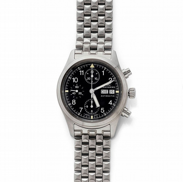 PILOT WRISTWATCH, AUTOMATIC CHRONOGRAPH, IWC,