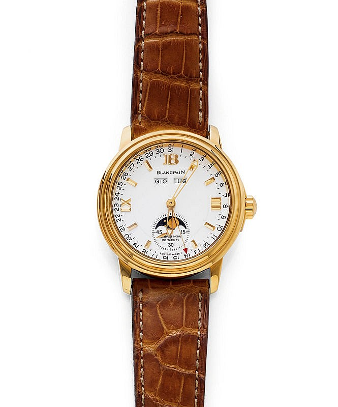 GENTLEMAN'S WRISTWATCH, AUTOMATIC, CALENDAR WITH