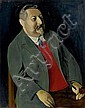 LEVY, RUDOLF(Stettin 1875 - 1944 Italy)Portrait of, Rudolf Levy, Click for value