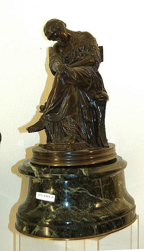 *CAVELIER, I. (Pierre Jules Cavelier, 1814 Paris 1894), Paris circa 1880.