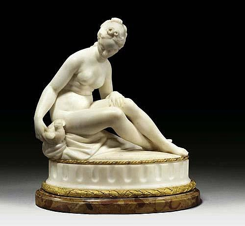 *MARBLE SCULPTURE OF