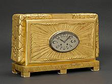 AMERICANCLOCK, ca. 1940Wood, carved and gilt. XXX