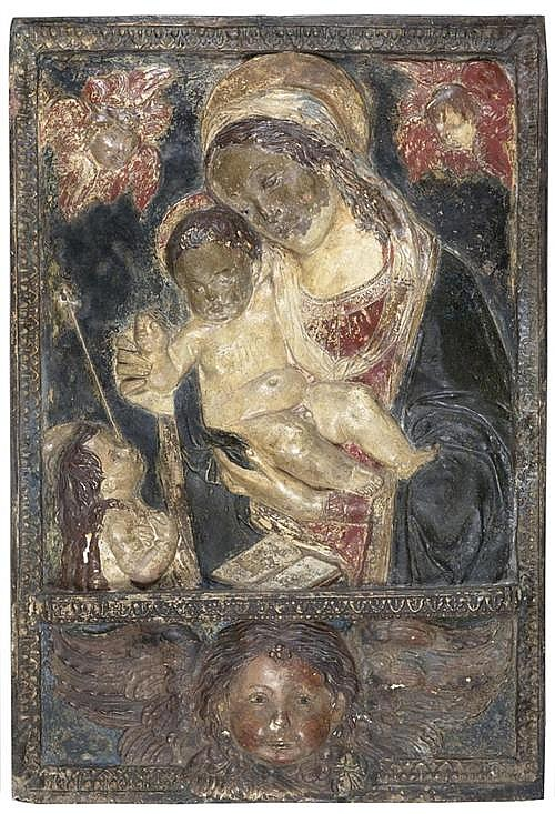 THE MADONNA AND CHILD WITH JOHN