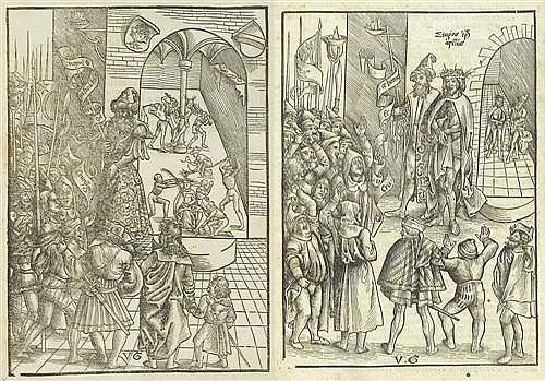 GRAF, URS (Solothurn 1485 - 1527/28 Basel).