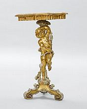 SMALL CONSOLE DESIGNED AS A PUTTO,in the Baroque