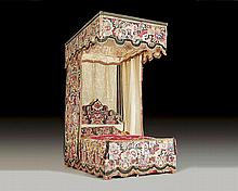 FOUR-POSTER BED,late Baroque, with the