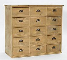 CHEST OF DRAWERS,in the rustic style.Pinewood.