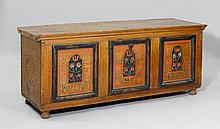 PAINTED CHEST, Berne, dated 1744 and inscribed