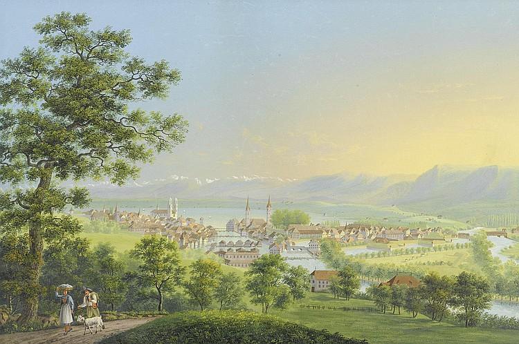 BLEULER, JOHANN HEINRICH (Zollikon 1758 - 1823