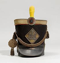 HUSSAR'S HAT AS A CASE,France, 1st half of the