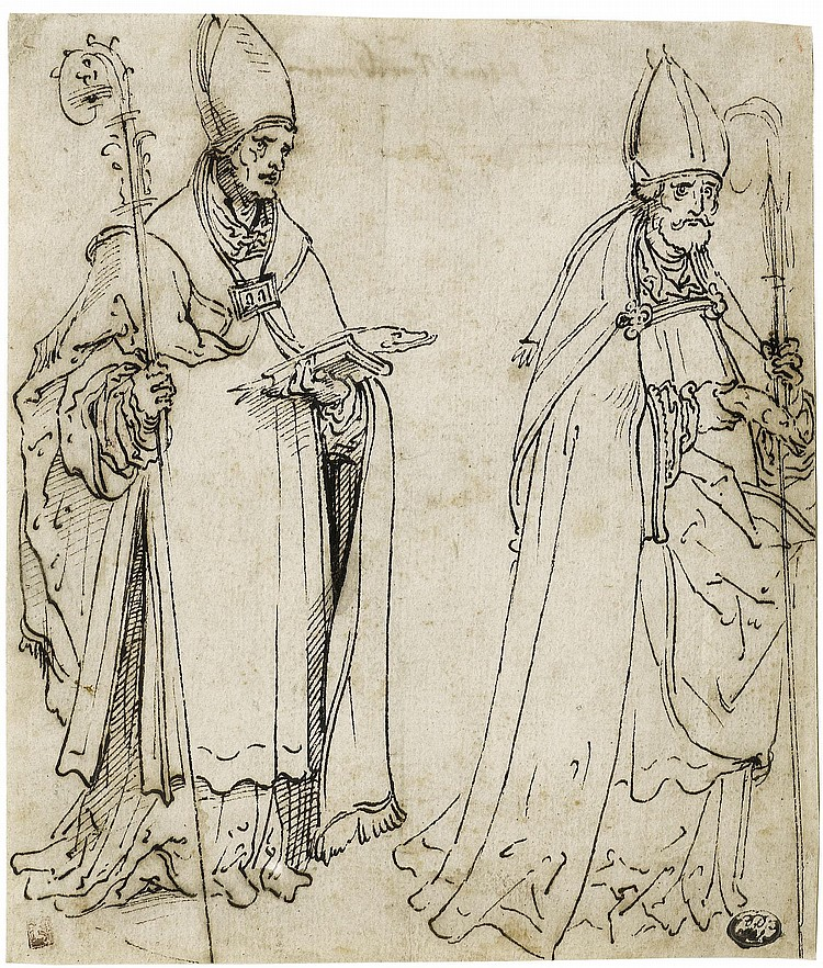 BURGKMAIR, HANS the Elder (1473 Augsburg 1531) Two