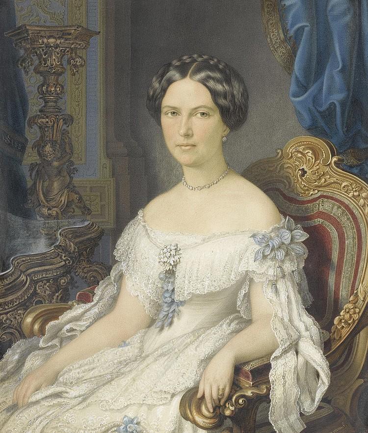 SCHRAMM, JOHANN HEINRICH. (Teschen 1810 - 1865