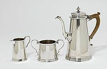COFFEE SET,New York, ca. 1915. Mark: Revere