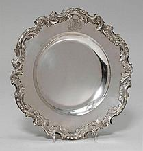 PLATE,Austria, 1872-88. Maker's mark Josef Carl
