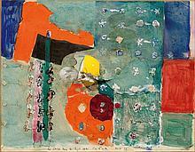 FALK, HANS(1918 Zürich 2002)Collage. 1979.Collage