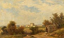 DIDAY, FRANCOIS(1802 Genf 1877)Landschaft bei St.
