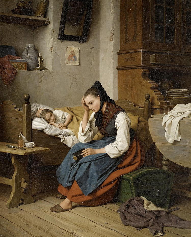 MEYERHEIM, FRIEDRICH EDUARD (Danzig 1808 - 1879