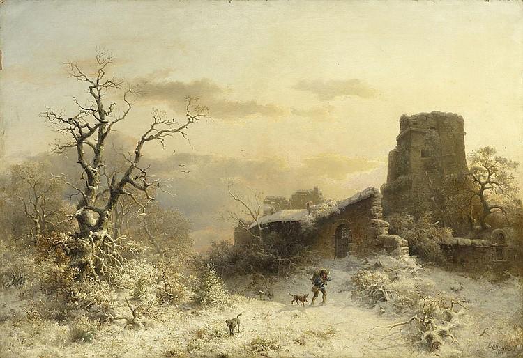 MUNTHE, LUDWIG (Aaroe 1841 - 1896 Dusseldorf)