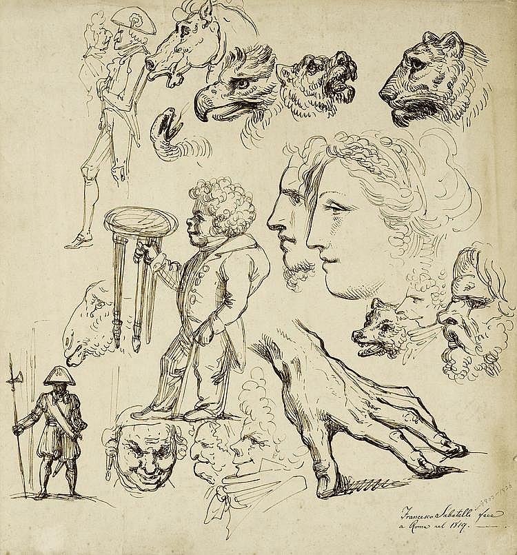 SABATELLI, FRANCESCO(Florence 1803 - 1829 Milan
