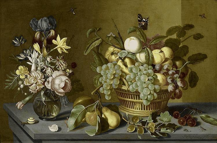 BOSSCHAERT, AMBROSIUS the younger(Middelburg 1609