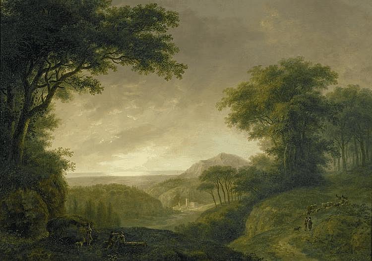 HESS, LUDWIG(1760 Zurich 1800)Bucolic landscape