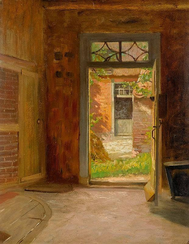 HOLZAPFEL, KARL (1865 Berlin 1926)View into a