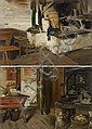 BACHMANN, HANS (1852 Lucerne 1917)Pair of works:, Hans (1852) Bachmann, Click for value