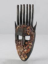 BAMANA MASKEMali. H 36 cm.Provenienz: Sammlung