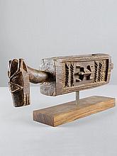 DOGON TROGMali. L 72 cm.Provenienz:- 1952 in situ