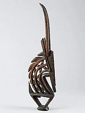 BAMANA MASKEMali. H 110 cm.