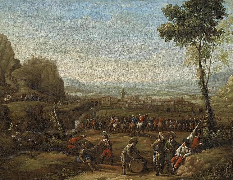 REDER, CHRISTIAN (Leipzig 1656 - 1729 Rome) Pair