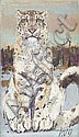HUG, FRITZ (Dornach 1921 - 1989 Zurich ) Tiger., Fritz Rudolf Hug, Click for value