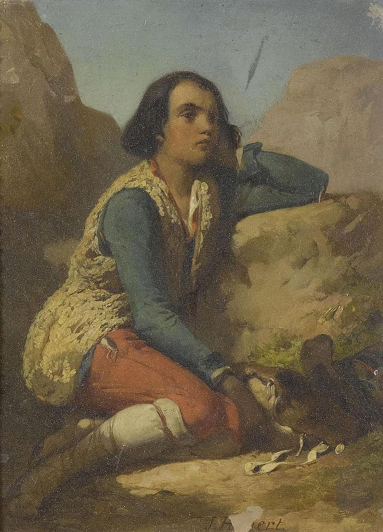 HEBERT, JULES (Geneva 1812 - 1897 Plainpalais)