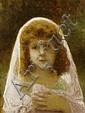HARLAMOFF, ALEXEJ(1842 Russia 1925)Portrait of a