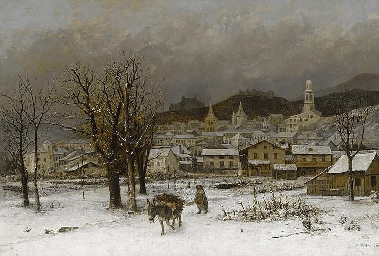 PATA, CHERUBINO(Sonogno 1827 - 1899 Gordola)Winter