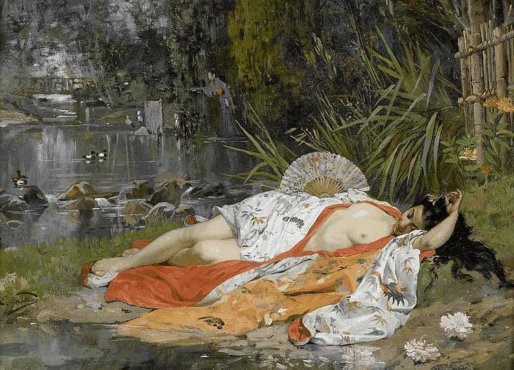 CASTRES, EDOUARD(Geneva 1838 - 1902