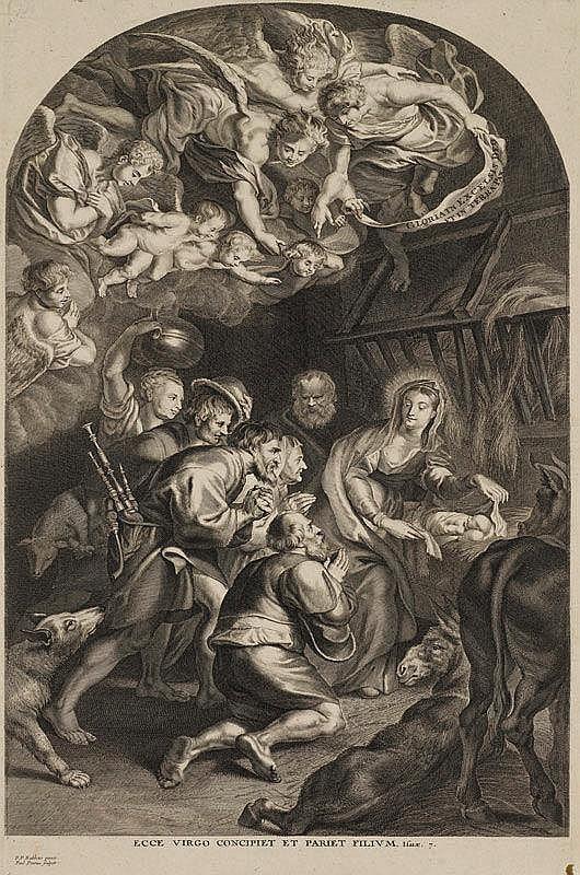 PONTIUS, PAULUS (1603 Antwerpen 1658). Nach Peter
