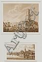 KONVOLUT.- Lot von 4 Zeichnungen: 1. Dubois. Die, Franz (1751) Schütz, Click for value