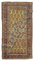 BIDJAR antique.Yellow central field patterned